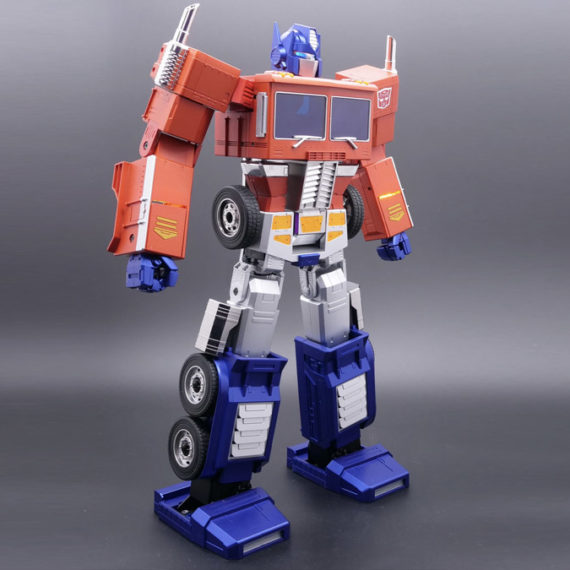 A 700 dollar Optimus Prime toy figure