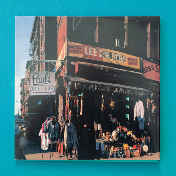Album cover for the Beastie Boy's album called Paul's Boutique