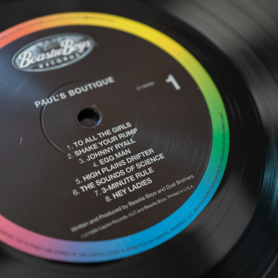 Spinner for the Paul's Boutique vinyl