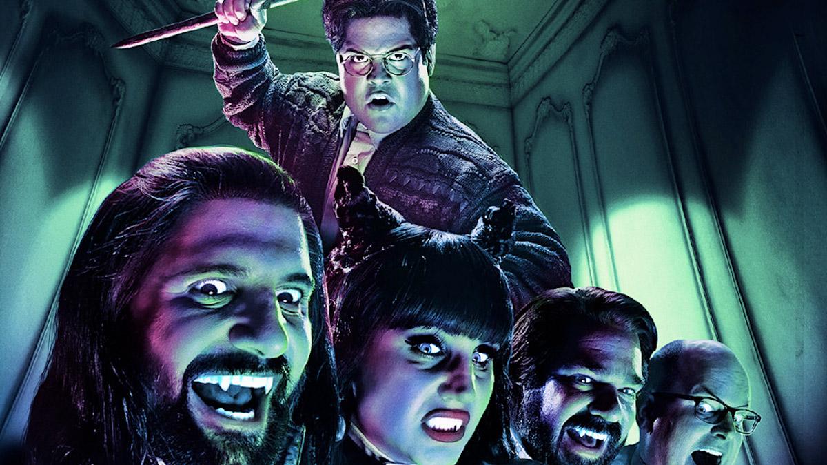 Actors dressed as vampires