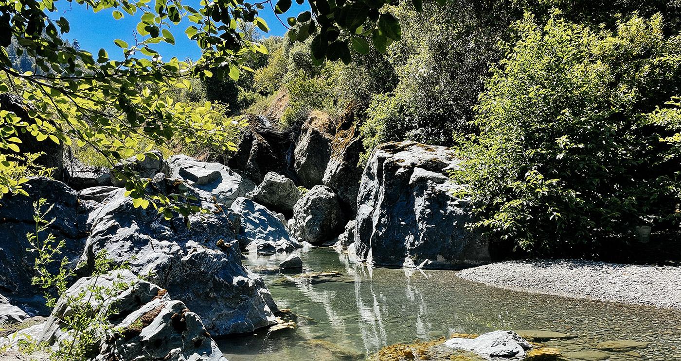 Blue Rock Creek, California