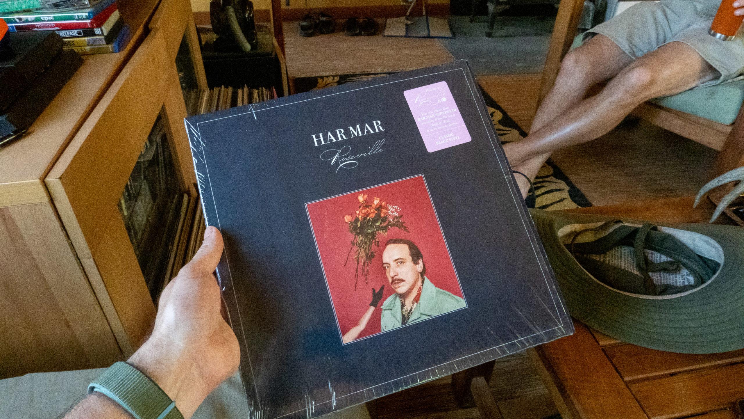 Har Mar Superstar vinyl record