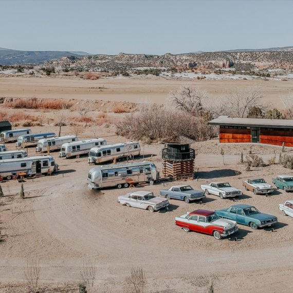 Airmstreams and classic cars