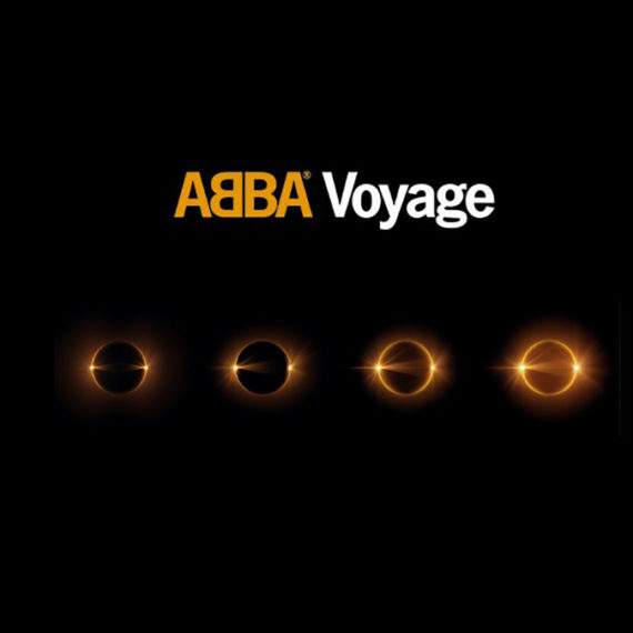 A teaser for a new album for the Swedish band ABBA